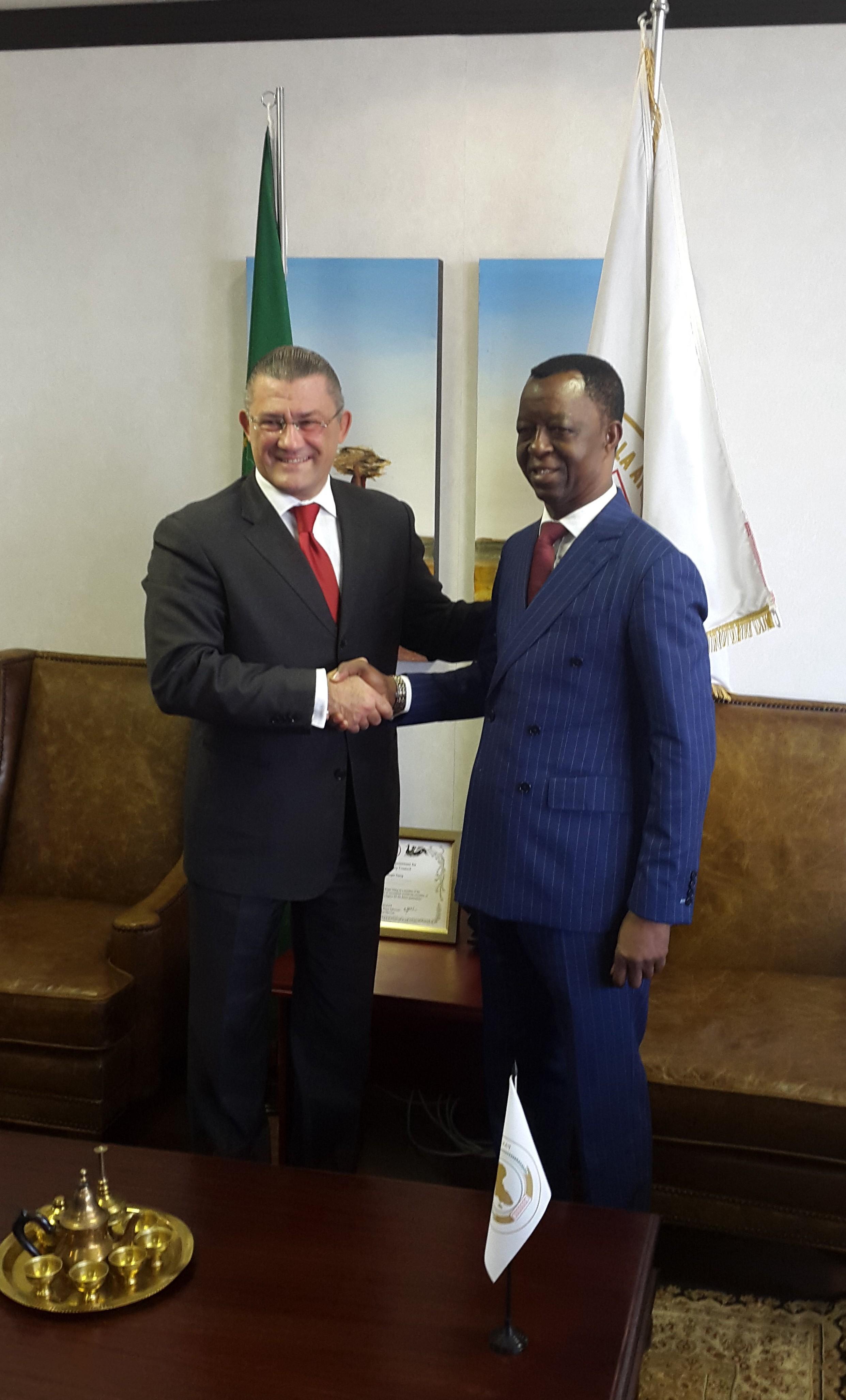 poseta ambasador Gorana Vujicica Panafrickom parlamentu avgust 2019